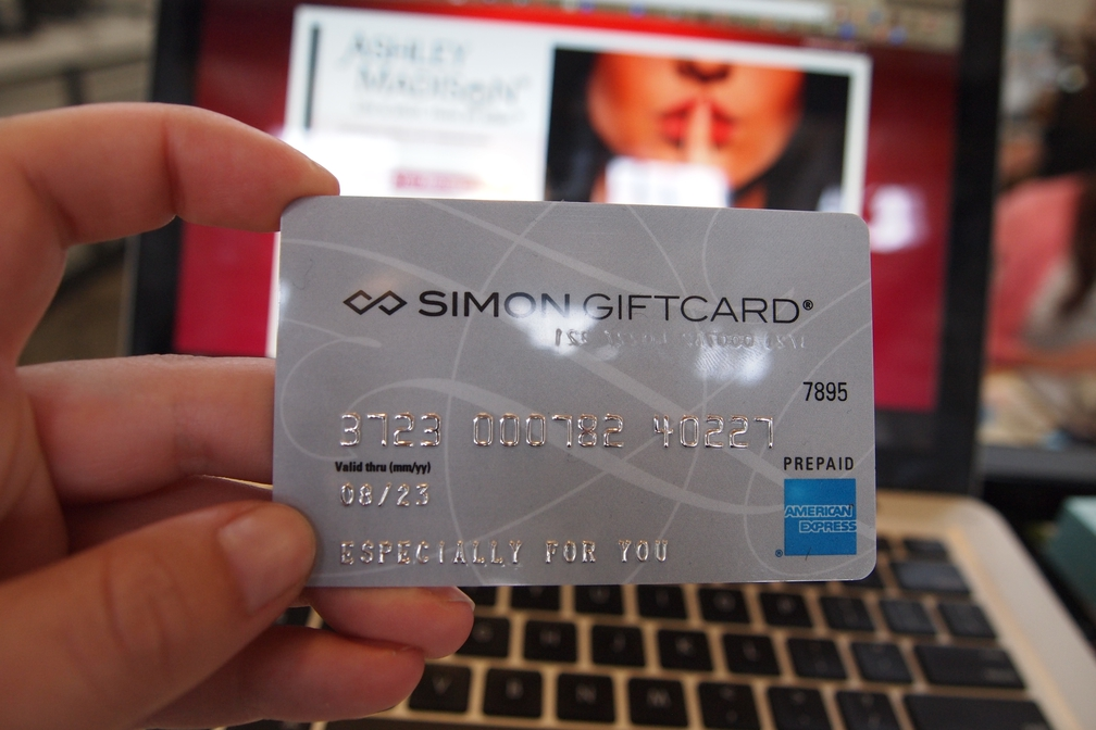 can i use a prepaid card on ashley madison